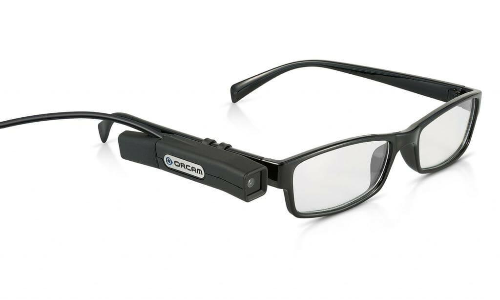 Orcam Brille Startslider